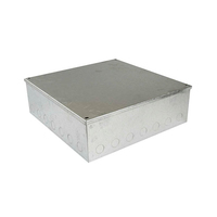 12x12x6 Galv. KO Adaptable Box