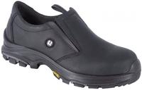 Grisport Pronto Composite Midsole And Toe Slip On Safety Shoe Black