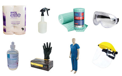 Covid-19 Update - PPE & Cleaning Supplies