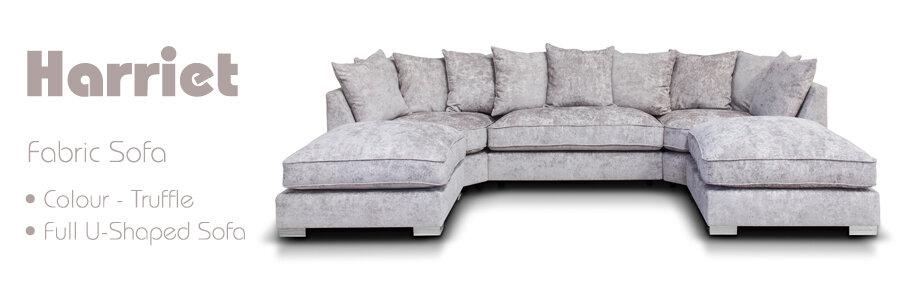 Harriet Fabric Sofa