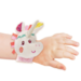 baby wearing Louise Bracelet Rattle