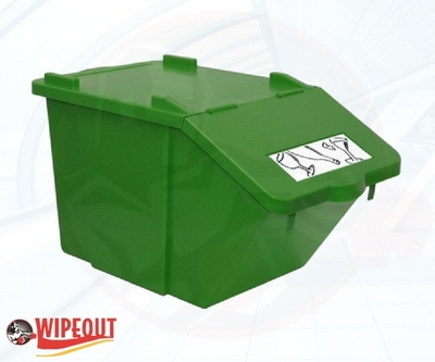STACKABLE CONTAINER/LID 45ltr GREEN