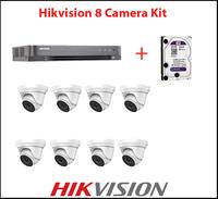 Hikvision 8 Camera Turbo CCTV Kit