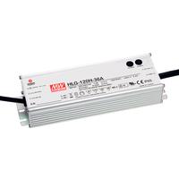 HLG-120H-36B | AC TO DC POWER SUPPLY ENCLOSED LED SINGLE OUTPUT 36 VOLT 3.4 AMP 122.4 WATT