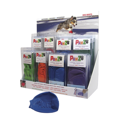 Pawz Dog Boots Counter Display Stand