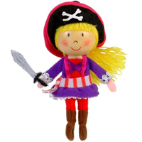 Pirate Girl Finger Puppet