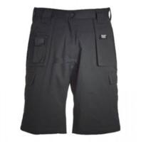 Twill Cargo Shorts Black (Waist 30)