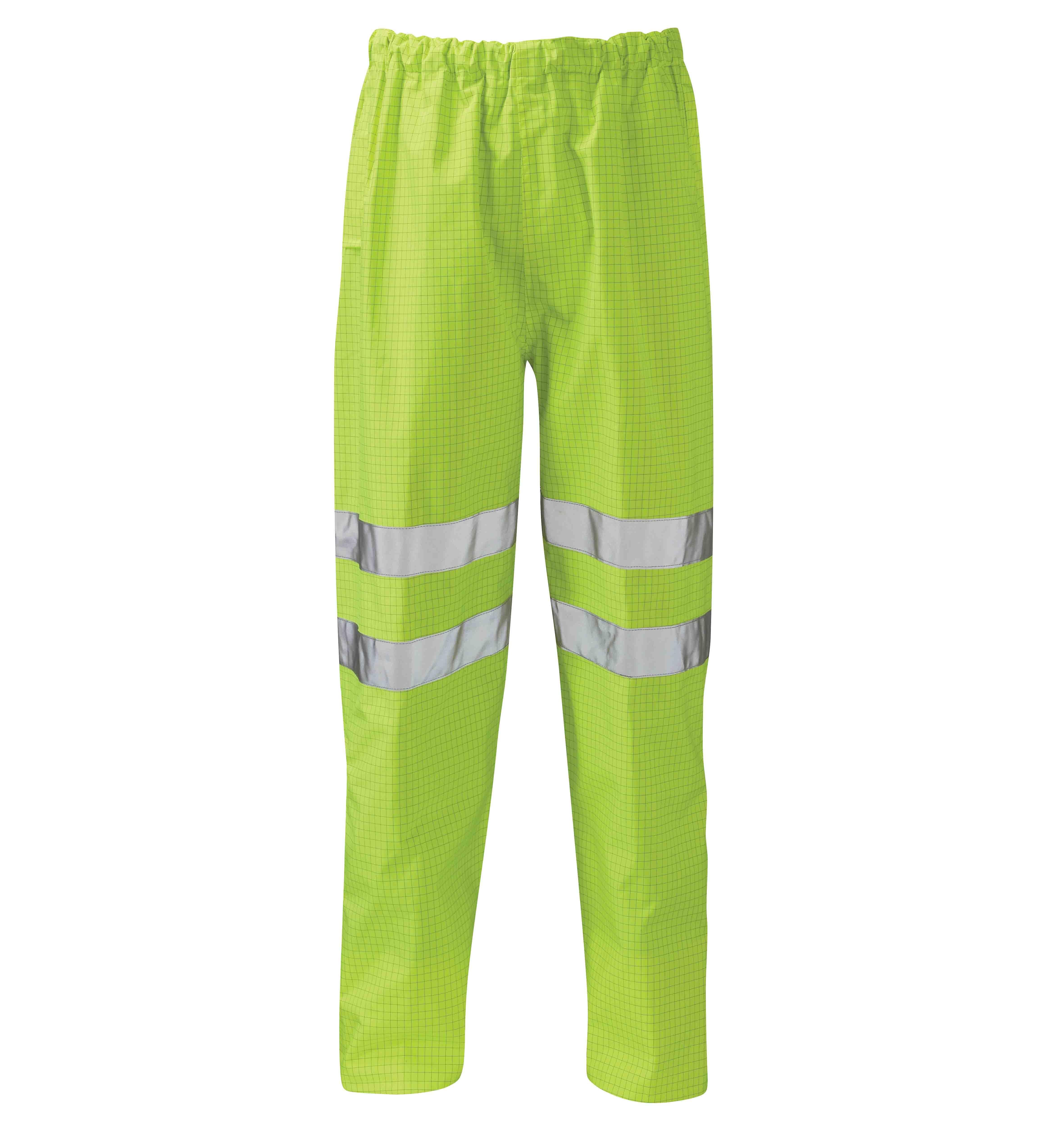 Fuji Hi-Vis FR AST Trousers Yellow