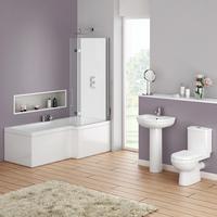 Ivo 4Pce cc Set(Basin, Pedestal, Pan & Cistern 3Boxes)