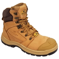 Mustang 7120 Nitrile Sole 300°C Lace Up Safety Boot with Scuff Cap