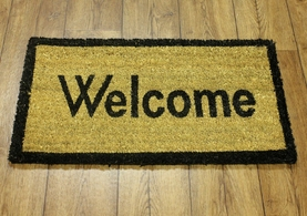 Doormat - Natural Welcome