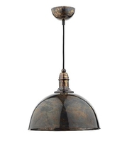 Yoko 1 Light Pendant, Mottled Bronze | LV1802.0113