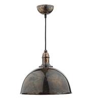 Yoko 1 Light Pendant, Mottled Bronze | LV1802.0113
