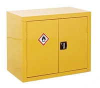 Flammable Cabinet 2-Door 700X900X460mm, Flamm