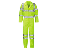 Sigma Hercules Hi-Visibility Poly/Cotton Coverall Yellow