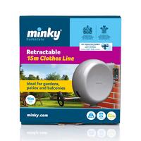 Minky Retractable Clothes Line 15m  (CL12M)