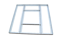 Tyson Non-Penetrating Flat Roof Frame Mount