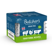 Butcher's Dog Trays Traditional Recipes 150g x 24