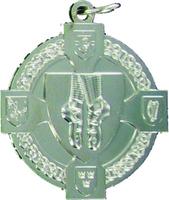 40mm Irish Dancing Medal (Silver)