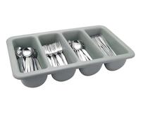 Cutlery Tray 4 Division Grey