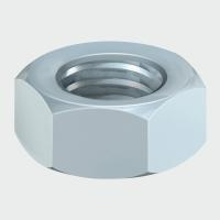 Timco Hex Full Nuts - Zinc