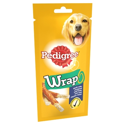 Pedigree Wrap 50g x 10