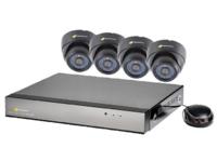 CCTV KIT 960H 8CH DVR, 1.0TB, 4 X 700TVL DOME CAMERAS