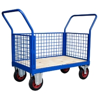 3 Sided Mesh Platform Truck or Mesh Trolley