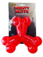 Pet Love Mighty Mutts Rubber Tri-Bone x 1