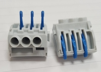 BIV403 3x 4sq Push in Connector / Rapid Terminal Block