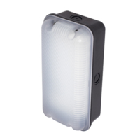 ANSELL Sleek Polycarbonate 4000K LED Bulkhead c/w Photocell