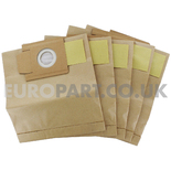 No. 205 Morphy Richards / Blomberg Paper Dust Bags (Pack of 5)