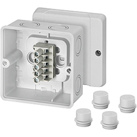 Hensel IP65 D9045 Junction Box for surface mounting on the wall/ceiling