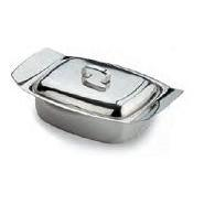 Butter Dish With Lid Stainless Steel 185mm x 115mm x 70mm
