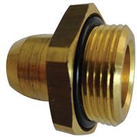 6mm Straight Coupling Stud M22 x 1.5