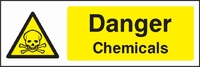 Warning and Chemical Danger Sign WARN0008-1716