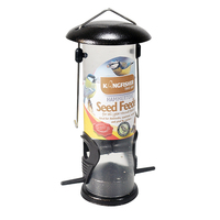 KINGFISHER WILD BIRD SEED FEEDER