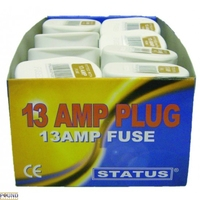 13APLUGBULK16 13AMP NYLON PLUG TOP WHITE (16'S)