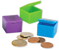 TOOTH FAIRY BOXES PK 48NEON COLOURS