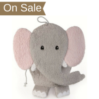 Washcloth Puppet - Elephant