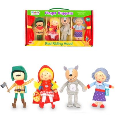 Little Red Riding Hood Finger Puppet Set