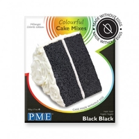 CCM707 BLACK, BLACK COLOURFUL CAKE MIX