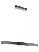 24w LED Bar Pendant Light in Black Chrome Effect. Warm White Light | LV1902.0008