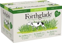 Forthglade Complete Grain-Free Adult MIXED Multipack 395g x 12