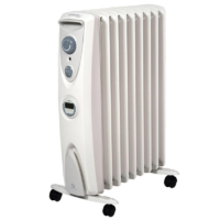 2KW OIL FREE COLUMN RADIATOR COMPLETE WITH TIMER