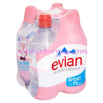 750 Evian 4pk x3
