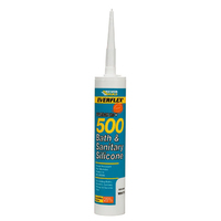 500 Bath & Sanitary Silicone C3 Cartridge, White