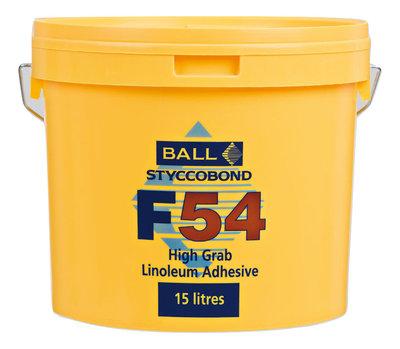 F54 High Grab Linoleum Adhesive