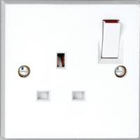 Vimark 13A 1 Gang Switched Socket