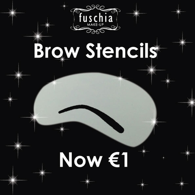 Brow Stencils 6 Shapes